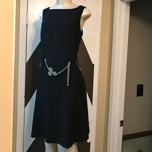 Gorgeous EUC JONES NEW YORK BLACK DRESS.